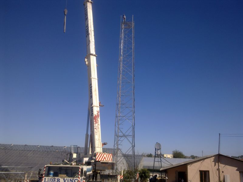 Construction of Base Stations